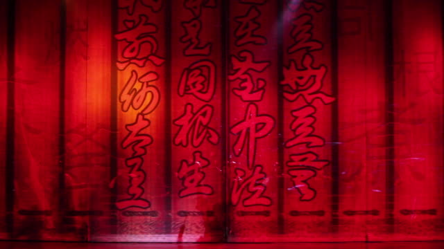 MS Artists performing local Chinese traditional qinqiang opera on stage AUDIO / xi'an, shaanxi, china