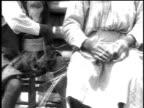 1916 CU artists weaving baskets / Democratic Republic of Congo