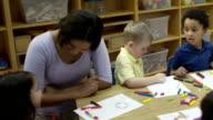 Arts and Crafts at Preschool