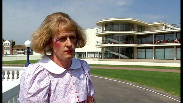 Arts Council touring exhibits / Grayson Perry interview In those days people didn't describe how happy they were by what they could afford / They had...