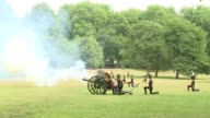 As Britons take in the news that the new royal baby is a little boy the Kings Troop Royal Horse Artillery marked the occasion with a 41 Royal Gun...