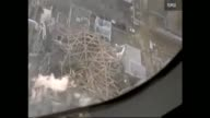 As Japan desperately continues to avoid a nuclear meltdown Tokyo Electric Power Co TEPCO has released aerial footage of damaged reactors at Fukushima...