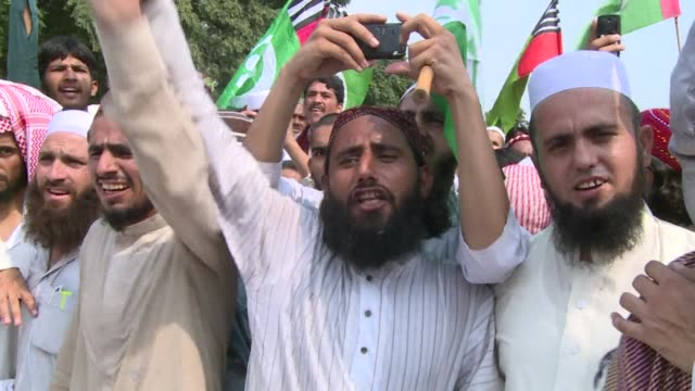 As Pakistani opposition politician Imran Khan called off talks with the government aimed at ending protests seeking the fall of the prime minister...