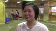 As the daughter of a former professional Sayaka had a leg up into a sport not usually associated with Japanese women