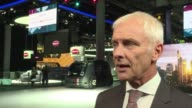 As the Frankfurt motor show gets underway the head of the Volkswagen group Matthias Muller announced on Monday that all the group's vehicles will be...