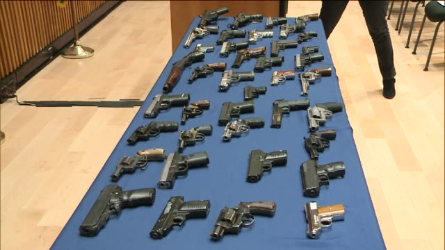 As the result of an undercover investigation Javon Burgess and Paul Lee are in custody and charged with illegally selling dozens of firearms...