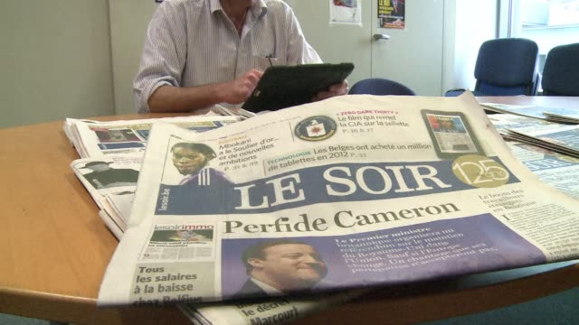 As traditional newspapers struggle to adapt to a new era of news consumption the renowned Belgian daily Le Soir has come up with a novel way to boost...