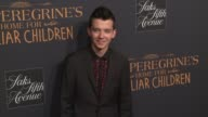 Asa Butterfield at 'Miss Peregrine's Home For Peculiar Children' New York Premiere at Saks Fifth Avenue on September 26 2016 in New York City