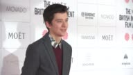 Asa Butterfield at The Moet British Independent Film Awards 2014 at Old Billingsgate Market on December 07 2014 in London England