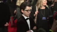 Asa Butterfield at the Royal Film Performance of 'Hugo' at London England