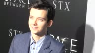 Asa Butterfield at 'The Space Between Us' LA Special Screening on January 17 2017 in Hollywood California