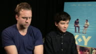 INTERVIEW Asa Butterfield on his career the direction he's heading into being a young actor at 'XY' Interview on October 15 2014 in London England