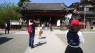 Asakusa Shrine also known as Sanjasama is one of the most famous Shinto shrines at Asakusa Tokyo Japan Asakusa is located in Shitamachi Area in...