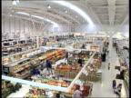 Asda price war targets chemists BUSINESS UNIT CLIPREEL Interior of Asda supermarket PAN LR
