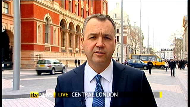 Asda report growth in sales figures ENGLAND London GIR INT Andy Clarke 2 WAY interview from Central London SOT