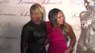 Ashanti and Mary J Blige at the Beyonce Knowles Hosts The Launch Event For The Lorraine Schwartz '2BHAPPY' Jewelry Collection Red Carpet at New York...