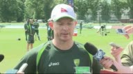 Chris Rogers press conference ENGLAND Kent Canterbury The Spitfire Ground St Lawrence EXT Chris Rogers press conference SOT re allegations about his...