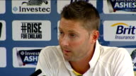 Third test ends in a draw Captains' press conferences Michael Clarke press conference on the test match SOT
