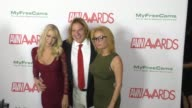 Ashlee Graham Katie Morgan Evan Stone at the 2017 AVN Awards Nomination Party at Avalon Nightclub in Hollywood at the 2017 AVN Awards Nomination...
