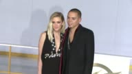 Ashlee Simpson and Evan Ross at 'The Hunger Games Mockingjay Part 1' Los Angeles Premiere at Nokia Theatre LA Live on November 17 2014 in Los Angeles...