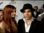 Ashlee Simpson and Pete Wentz on the event Clive Davis and the key to longevity in the music business at the Clive Davis 2008 PreGrammy Awards Party...
