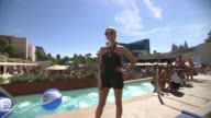 Ashlee Simpson at Ashlee Simpson Hosts FIJI Water Summer Soak Las Vegas on 9/8/2012 in Las Vegas NV
