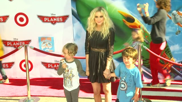 Ashlee Simpson at Planes Los Angeles Premiere on 8/5/13 in Los Angeles CA