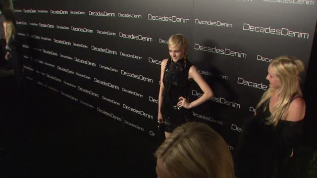 Ashlee Simpson at the Decades Denim Launch Party at Beverly Hills CA