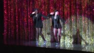 Ashlee SimpsonWentz and Deidre Goodwin at the Ashlee SimpsonWentz Makes Her Broadway Debut In 'Chicago' at New York NY