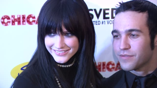 Ashlee SimpsonWentz and Pete Wentz at the Ashlee SimpsonWentz Makes Her Broadway Debut In 'Chicago' at New York NY