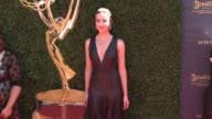 Ashleigh Brewer at the 44th Annual Daytime Emmy Awards at Pasadena Civic Auditorium on April 30 2017 in Pasadena California
