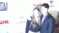 Ashleigh Cummings Aaron Jakubenko at Australians In Film 5th Annual Award Benefit Dinner in Los Angeles CA
