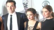 Ashley Benson Troian Bellisario Shay Mitchell Lucy Hale Ian Harding at People's Choice Awards 2016 at Nokia Plaza LA LIVE on January 06 2016 in Los...