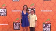 Ashley Caldwell at the Nickelodeon Kids' Choice Sports Awards 2016 at UCLA's Pauley Pavilion on July 14 2016 in Westwood California