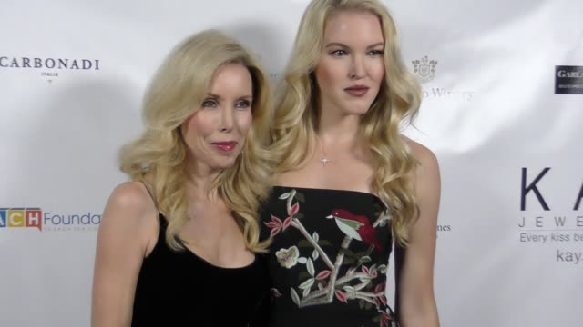 Ashley Campbell and Kim Campbell at The 2017 Open Hearts Gala at SLS Hotel on October 21 2017 in Beverly Hills California