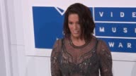 Ashley Graham at 2016 MTV Video Music Awards Arrivals at Madison Square Garden on August 28 2016 in New York City