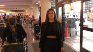 Ashley Graham departing at LAX Airport in Los Angeles in Celebrity Sightings in Los Angeles