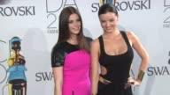 Ashley Greene and Miranda Kerr at Test Event January 2012 ny on in New York NY