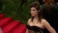 Ashley Greene at 'PUNK Chaos To Couture' Costume Institute Gala at Metropolitan Museum of Art on May 06 2013 in New York New York