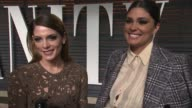 INTERVIEW Ashley Greene at the 2015 Vanity Fair Oscar Party Hosted By Graydon Carter at Wallis Annenberg Center for the Performing Arts on February...