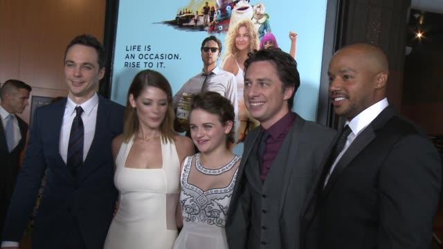 Ashley Greene Joey King Jim Parsons Zach Braff Donald Faison Pierce Gagnon Michael Schaumburg at 'Wish I Was Here' Los Angeles Premiere Presented By...
