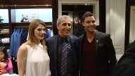 Ashley Greene Tony Thomas at BROOKS BROTHERS Celebrates The Holidays with St Jude Children's Research Hospital And Town Country in Los Angeles CA