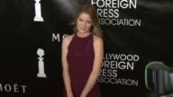 Ashley Hinshaw at the Hollywood Foreign Press Association's Annual Grants Banquet Dinner at the Beverly Wilshire Four Seasons Hotel on August 13 2015...