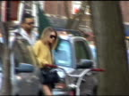 Ashley Olsen caught by surprise as she climbs the steps to her West Village home at the Celebrity Sightings in New York at New York NY