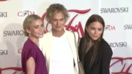 Ashley Olsen Lauren Hutton and MaryKate Olsen at 2012 CFDA Fashion Awards Arrivals on in New York