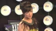 Ashley Rickards at the 2011 MTV Video Music Awards at Los Angeles CA
