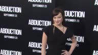 Ashley Rickards at the 'Abduction' Premiere at Hollywood CA