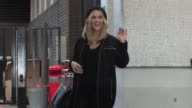 Ashley Roberts Celebrity Video Sightings on February 06 2013 in London England