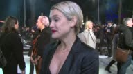 INTERVIEW Ashley Roberts on the book the movie and Jamie Dornan at 50 Shades of Grey UK premiere on 12th February 2015 in London England
