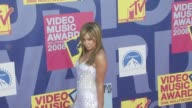 Ashley Tisdale at the 2008 MTV Video Music Awards at Los Angeles CA